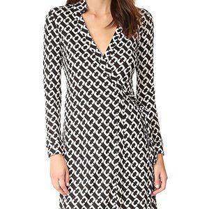 DVF New Jeanne Two Classic Wrap Dress